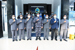 Dampingi Kasal, Komandan Lantamal V Kunjungan Kerja ke Yayasan Nala