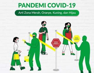 Pembagian zona pandemi