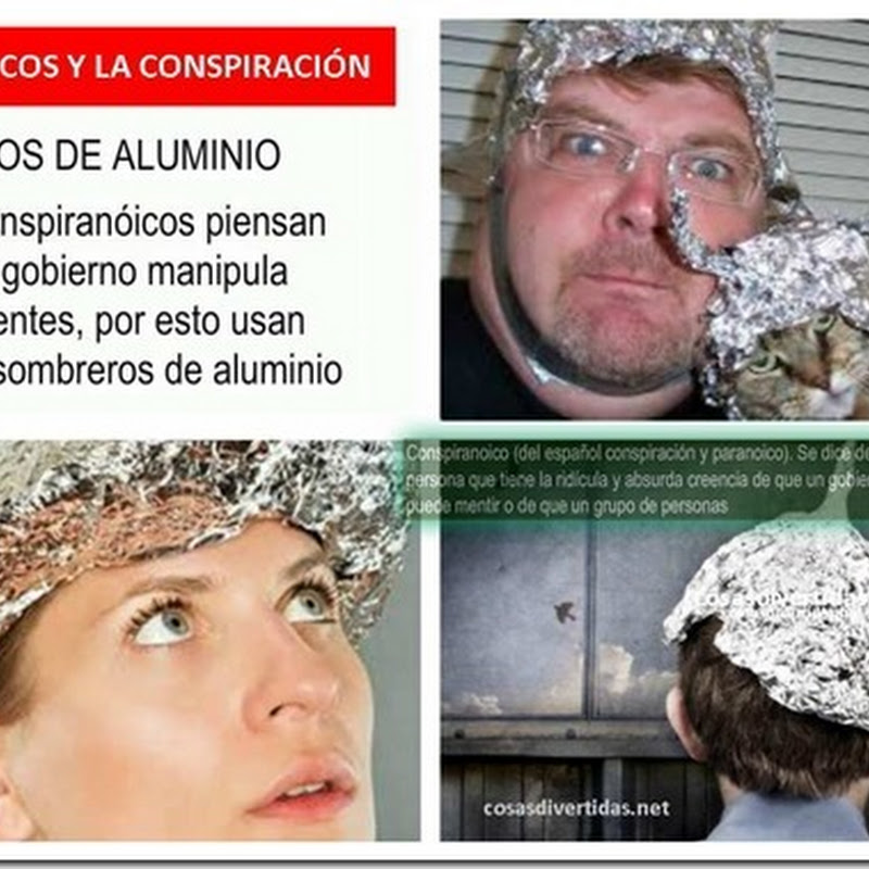 conspiración: a salvo con tu Gorro de Aluminio