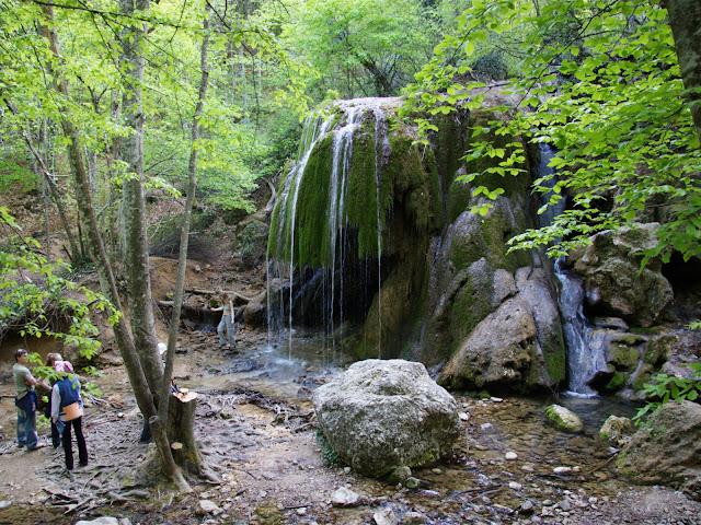 Что посмотреть в Крыму? Водопад Серебряные струи