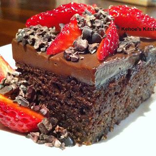 Best Ever Chocolate Mud Cake
