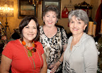Jean Lewis, Judy McClellan and Lynda Railsback.