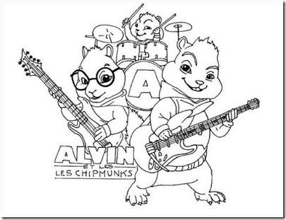 Colorear Alvin Y Las Ardillas Dibujos Colorear