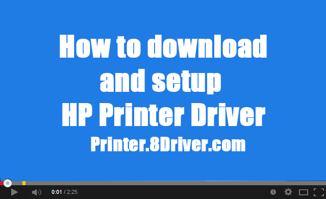 Video step to step installing HP LaserJet 8150 Series Printer driver