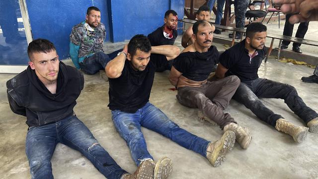 Mercenarios Colombiano confesaron haber  asesinado al presidente de Haití