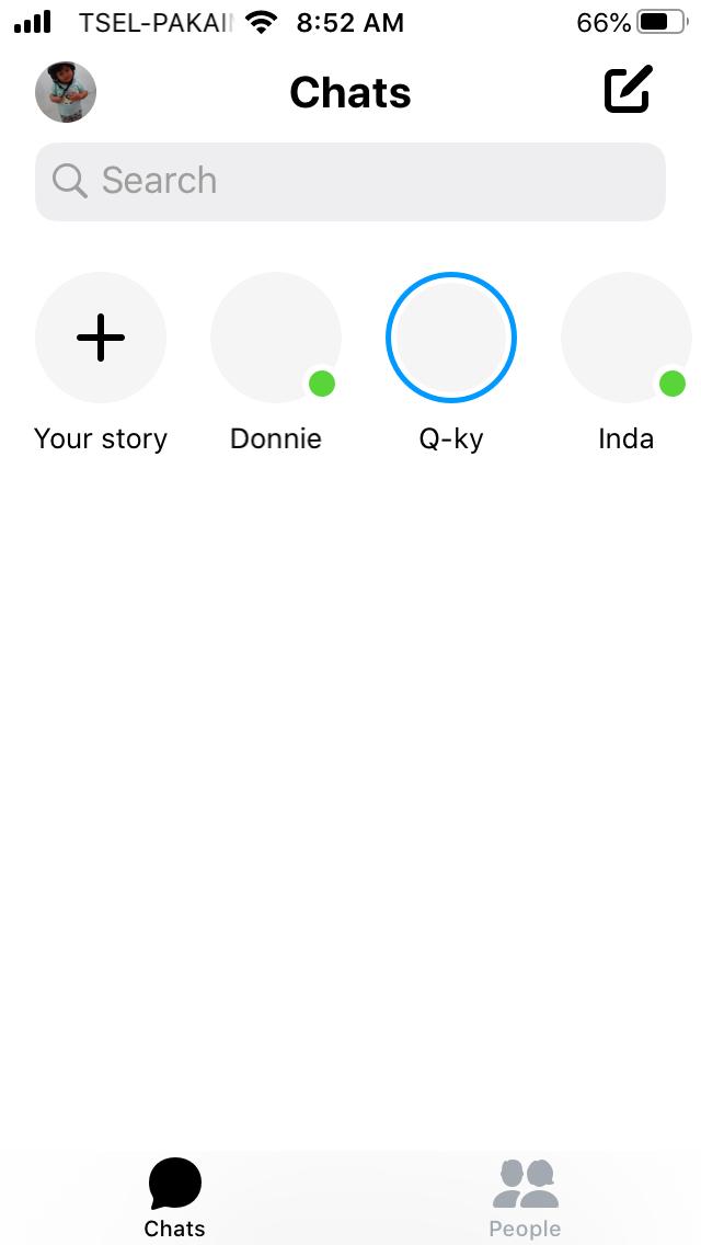 menu profile icon
