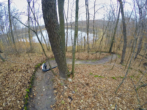 """Pete's Porkie"" singletrack segment on Twin Lakes cleared Thursday morning"