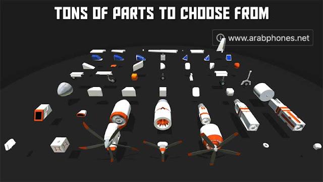 لعبة صناعة الطائرات SimplePlanes apk مجانا للأندرويد