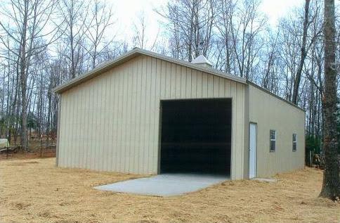 ... Garage Building Pictures ...