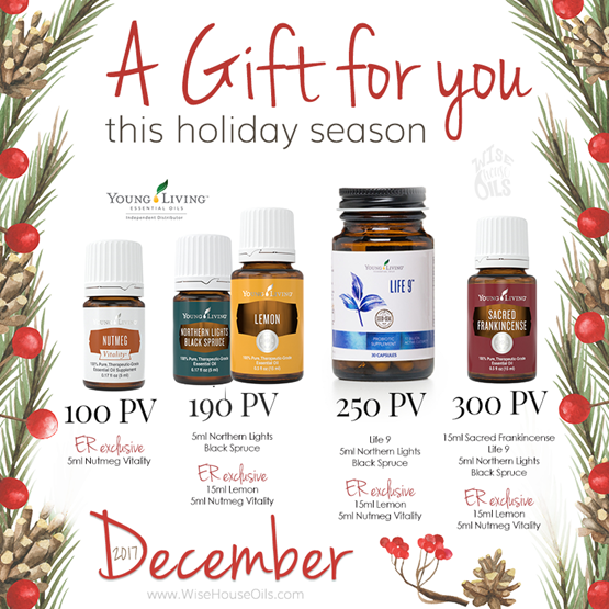 December 2017 Young Living Promo WHO