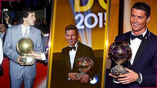 World Best Player Winners List (1956 - 2017) 3