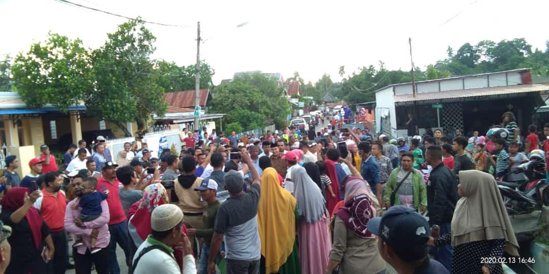 Hadiri Undangan Silaturahmi Masyarakat Salepa, La Ode M. Rajiun ingatkan Santun Dan Kedepankan Etika Dalam Berpolitik