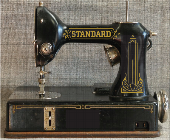 Standard Sewhandy Sewing Machine Restoration Decals Keeler Sales Simple Standard Sewing Machine