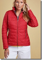 Barbour Red Lightweight Quilted Jacket
