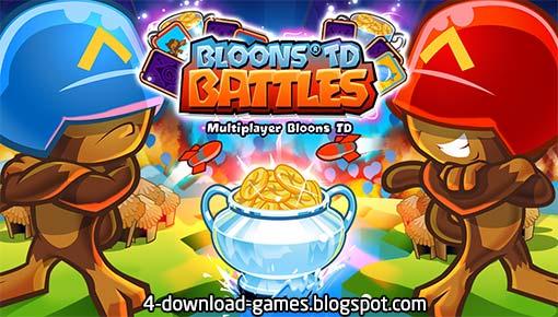 الغلاف الرسمي للعبة Bloons TD Battles