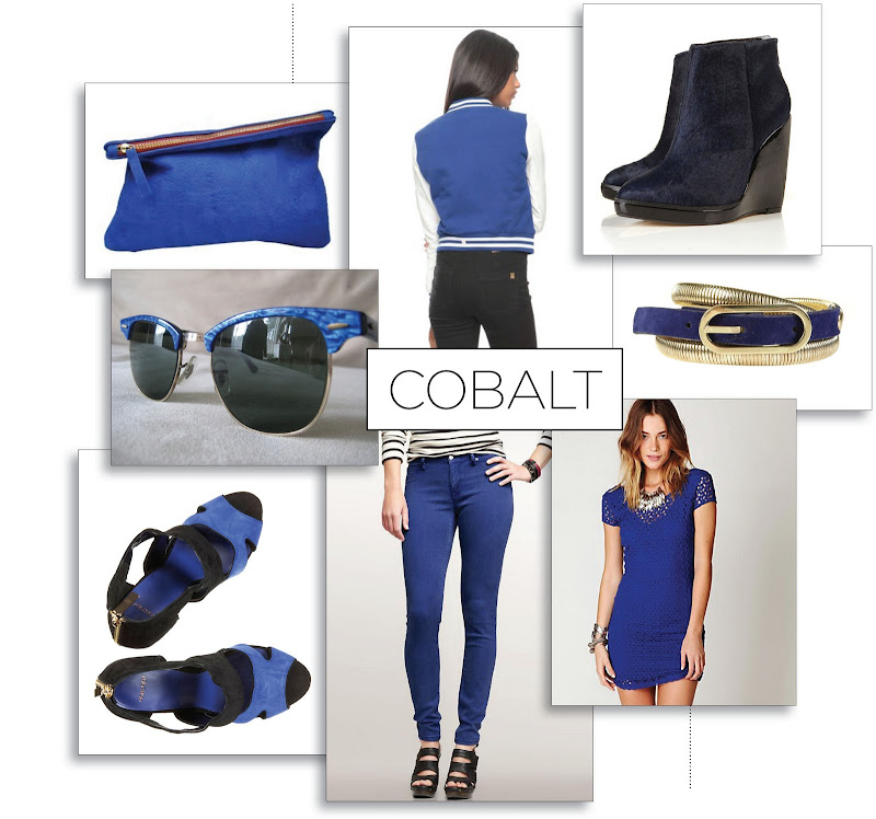 bright blue style