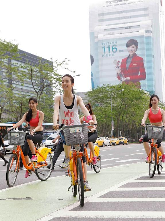 *Reebok 打造戶外腳踏車健身體驗區:林依晨挑戰4公里城市輕運動! 4