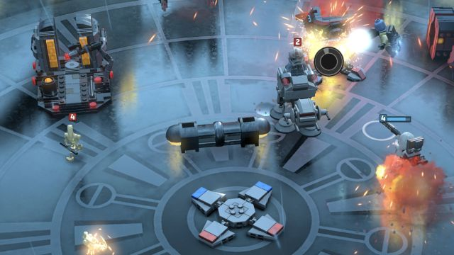 The release date for LEGO Star Wars Battles has been confirmed by Apple Arcade.