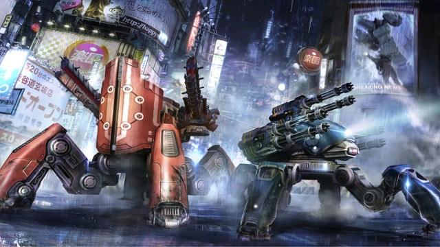 war robots خۆشترین یاری شەڕی ڕۆبۆتەكان بۆ ئایفۆن و ئەندرپید