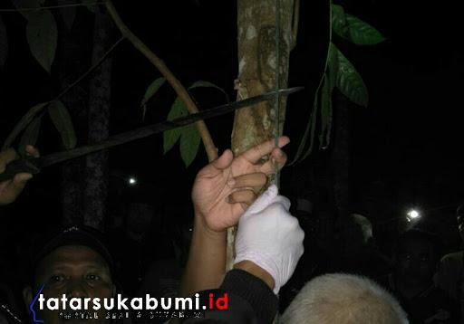 Geger, Mayat Tergantung di Pohon Mahoni Kecamatan Surade