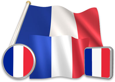 French flag animated gif collection
