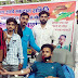 युवाओं ने रक्तदान कर शहीदों को किया याद स्वतंत्रता दिवस पर जय अम्बे रक्तदान समिति ने लगाया शिविर