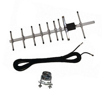 11dBi gain Yagi Directional Antenna for 900 and 1800MHz GSM bands.