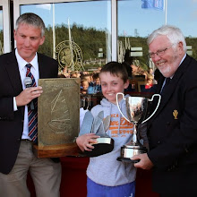 Irish Optimist Nationals Main prize giving (Paul Keal)