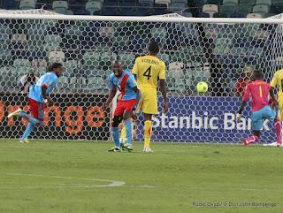 But de la RDC contre le Mali : 1-1, le 28/01/2013  à Durban en Afrique du Sud. Radio Okapi/ © Don John Bompengo