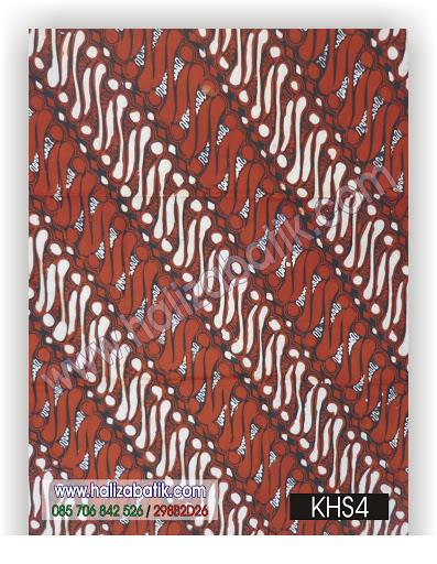 Macam Batik, Batik Pekalongan, Batik Modern, KHS4