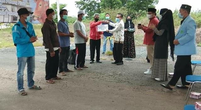 16 Ekor Sapi Kurban Disalurkan Pemkab Pulang Pisau, 25 Ekor dari Pemprov Kalteng