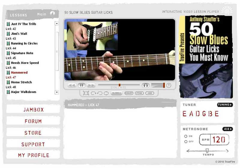 Anthony Stauffer's 50 Slow Blues Guitar Licks You Must Know