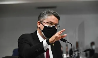 Alessandro Vieira entra com representação contra senador por  informações falsas na CPI