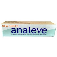 Analeve - natural treatment for anal fissures and hemorrhoid