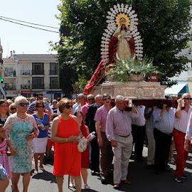 Procesión Virgen de Barbaño