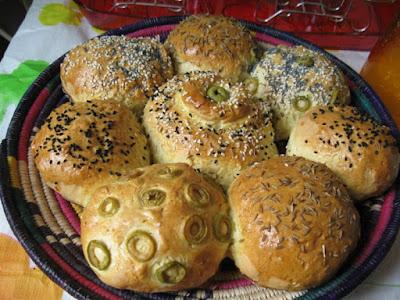 Le pain maison de Dija Kal - recette indexée dans la rubrique Divers