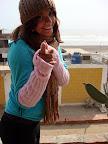 Vasilisa on Beachfront Terrace (Huanchaco, Peru)
