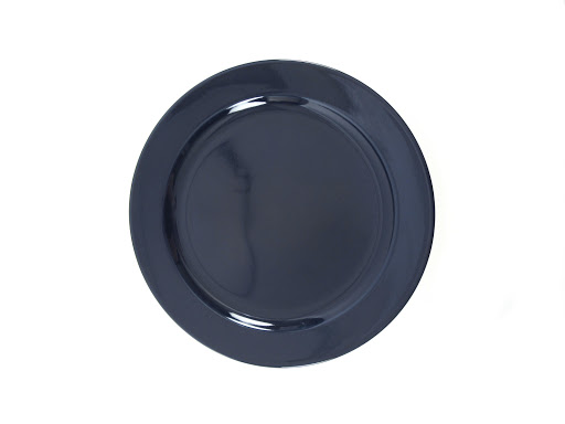 Billy Cotton Indigo Salad Plate
