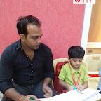 """Sing Along with Daddy"" celebration by Jr KG Section (2017-18) at Witty World, Bangur Nagar"