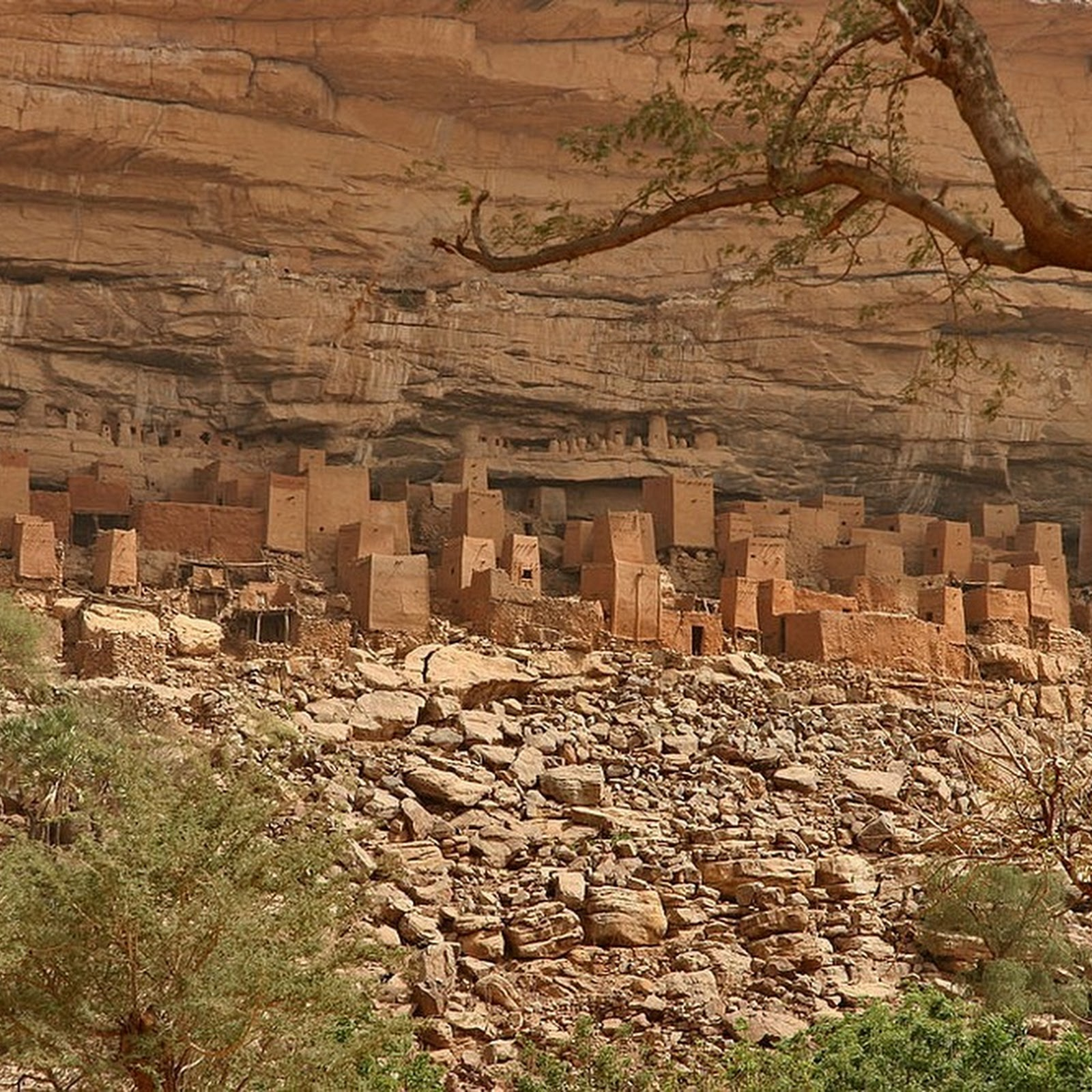 The Dogon Villages of Bandiagara Escarpment