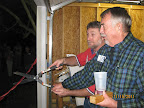 Bobby & Will Cut the Ribbon 11/15/11