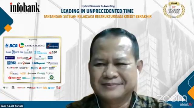 Bank Kalsel Kembali Ukir Prestasi Melalui Infobank Awards 2021
