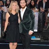 OIC - ENTSIMAGES.COM - Sam Taylor-Johnson and Aaron Taylor-Johnson at the  The Avengers: Age of Ultron - UK film premiere London 21st April 2015  Photo Mobis Photos/OIC 0203 174 1069