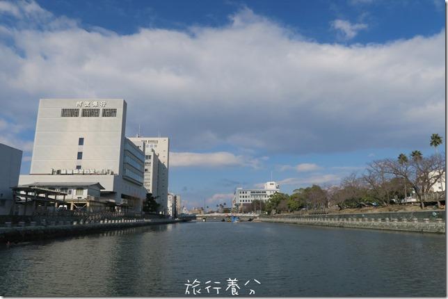 四國德島 葫蘆島周遊船 新町川水際公園 (15)