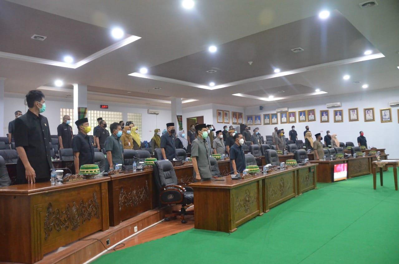 Rapat Paripurna DPRD Soppeng Penandatanganan Nota Kesepakatan Bersama KUA dan PPAS
