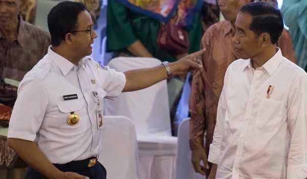 Berkali-kali Menolak, Kali Ini Presiden Jokowi Ikut Kebijakan Anies Baswedan