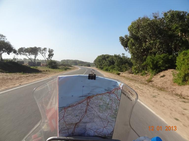 marrocos - Marrocos e Mauritãnia a Queimar Pneu e Gasolina DSC05372