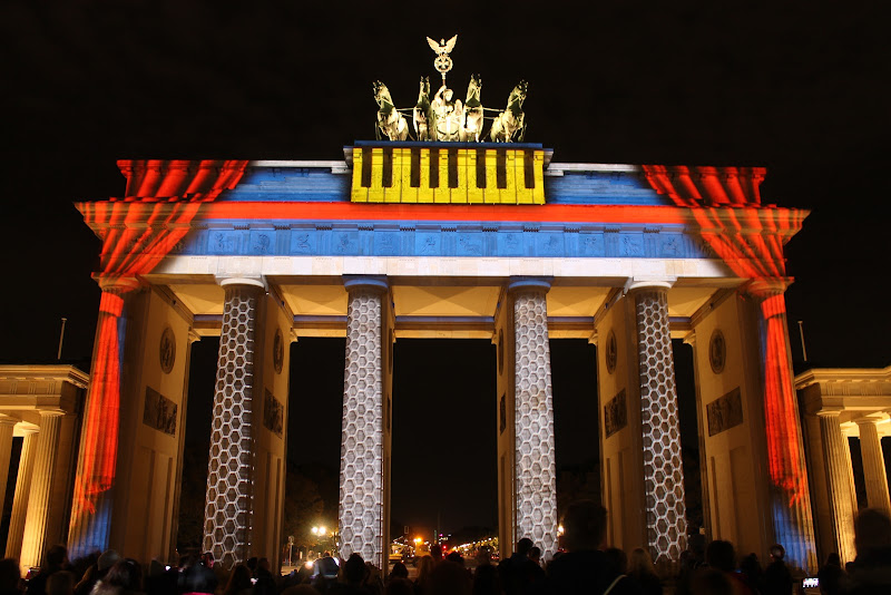 Festival of Lights Berlin 2015 - Illuminationen am Brandenburger Tor