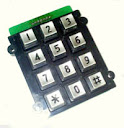 anti vandal keypad CT-KPP01-12
