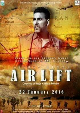 Airlift 2016 Hindi BRRip 720p 950MB AAC MKV